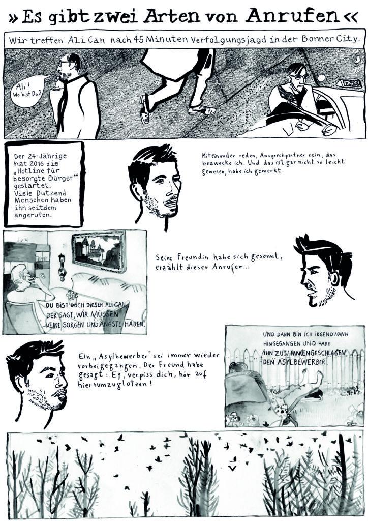Comic Ali Can