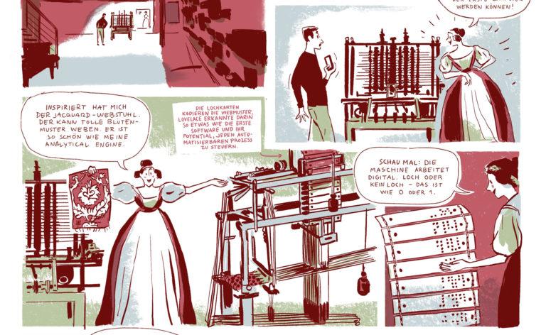 Comicreportage Ada Lovelace