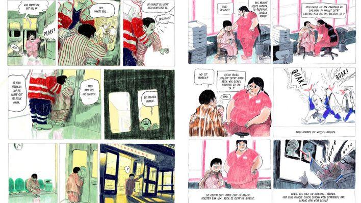 Comic Mikael Ross