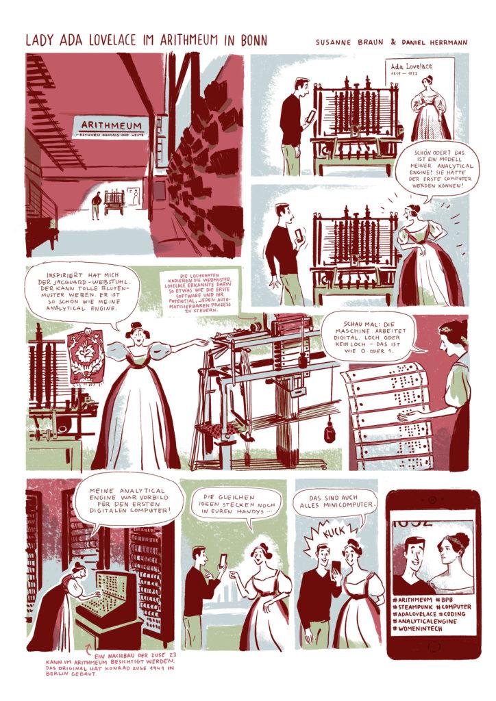 Comic Ada Lovelace