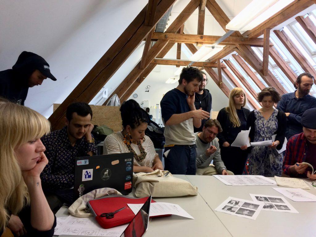 Workshop Alphabet des Ankommens