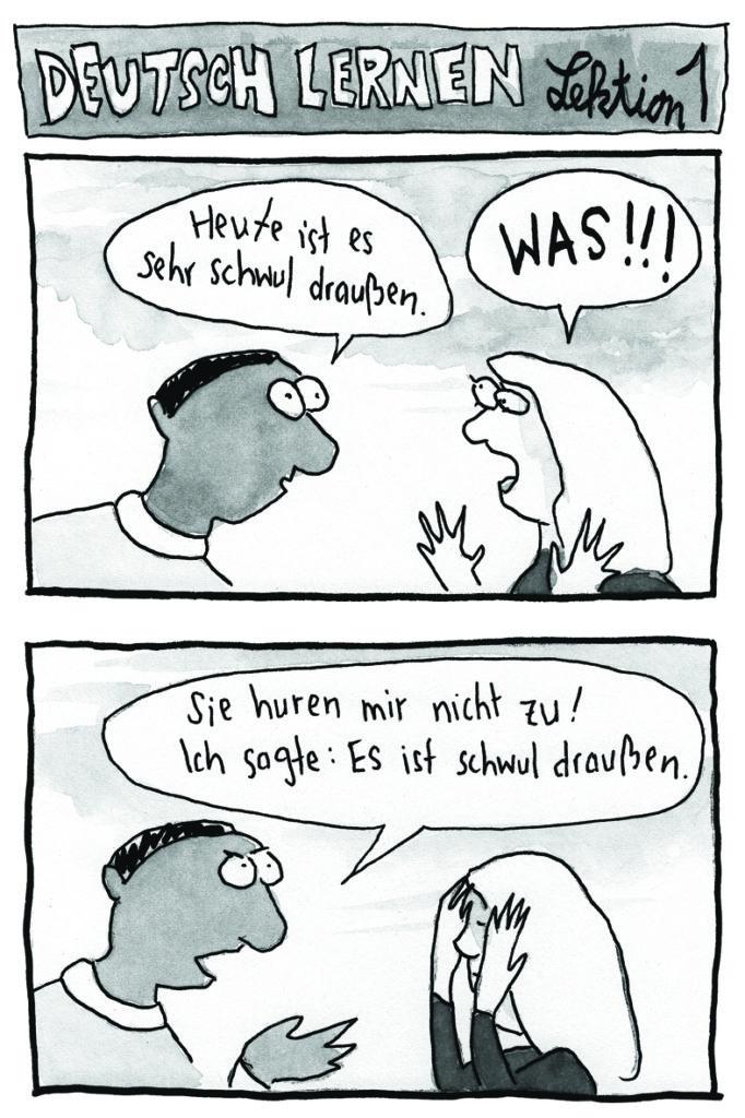 Comic Deutsch lernen