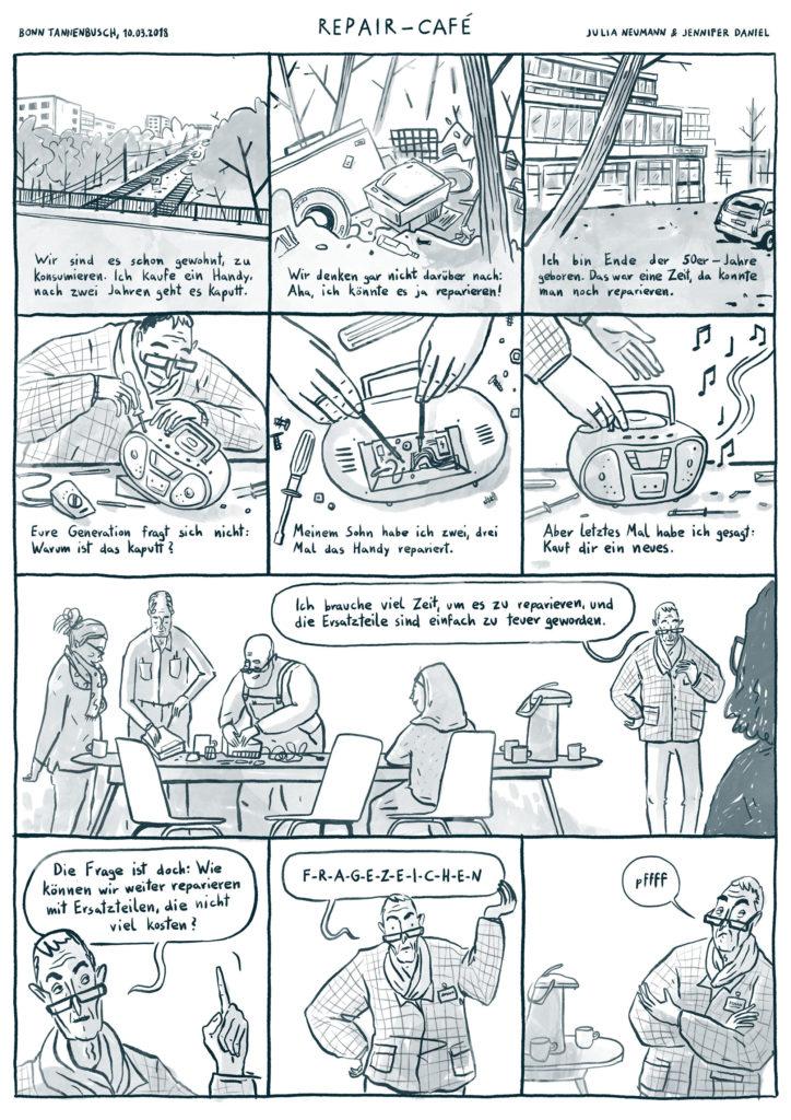 Comic Repaircafé