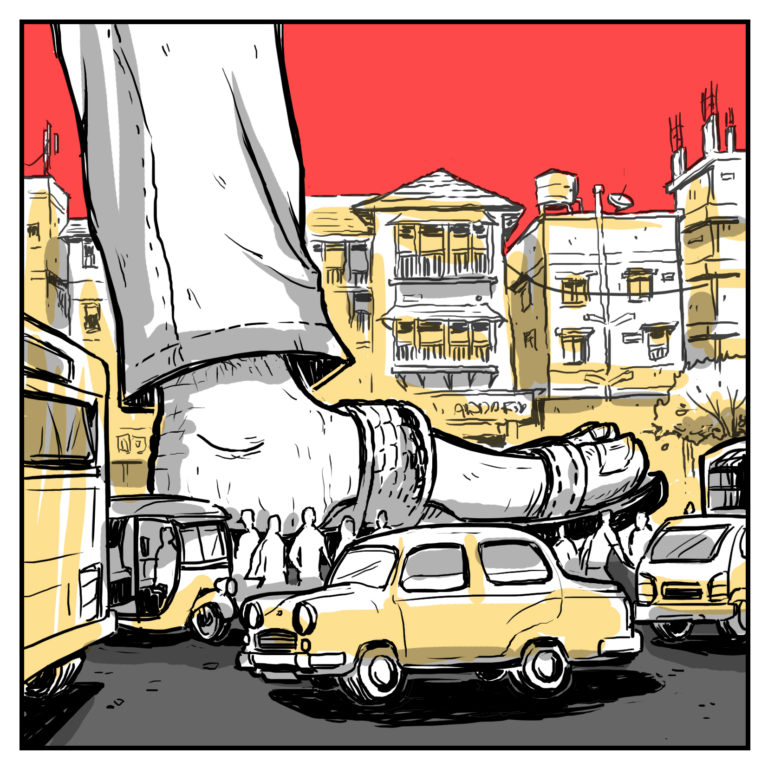 Comic Nikhil Chaudhary