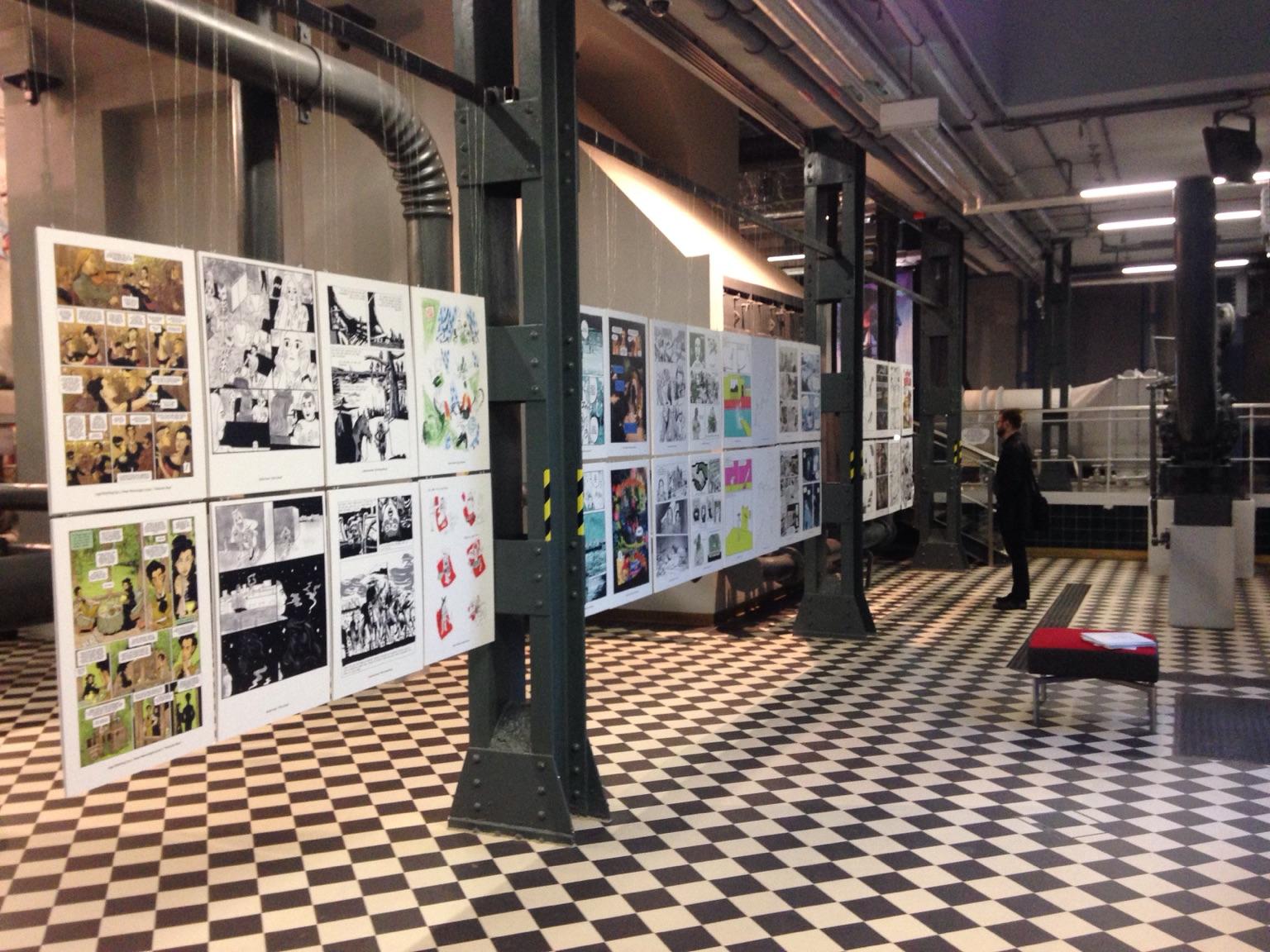 Comic Ausstellung