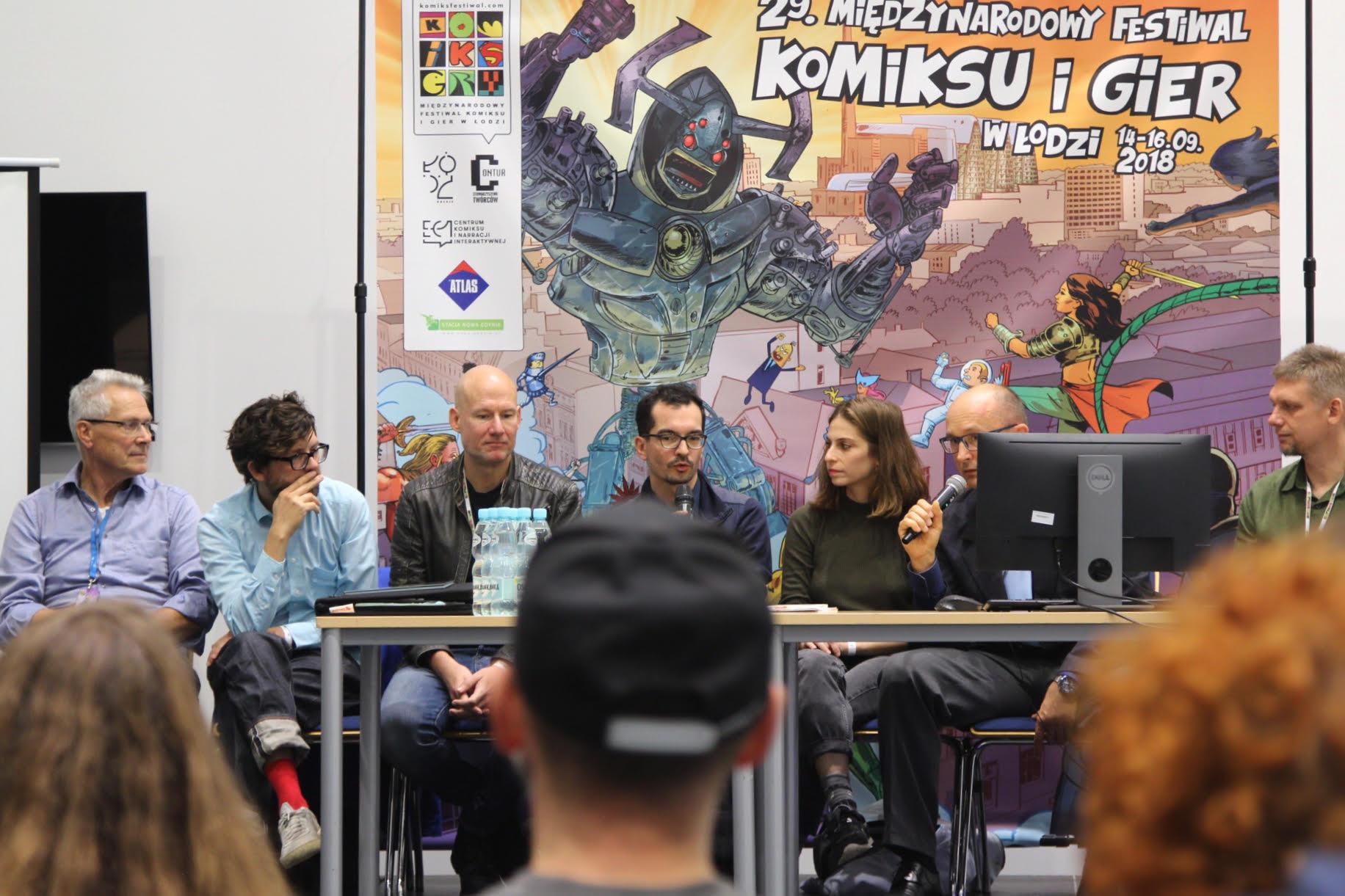 Panel Comicfestival