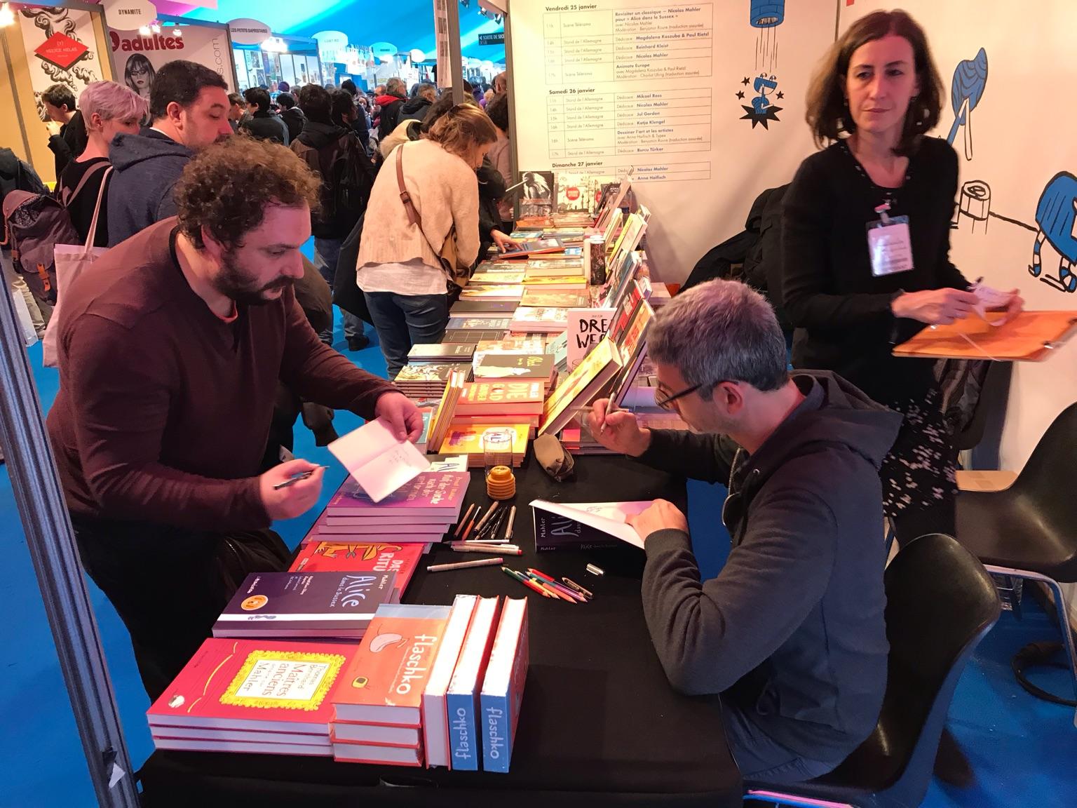 Comicfestival Angoulême Stand