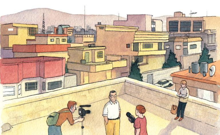 Illustration Sarah Glidden