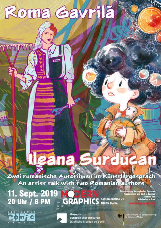 Poster Ileana Surducan & Roma Gavrilă